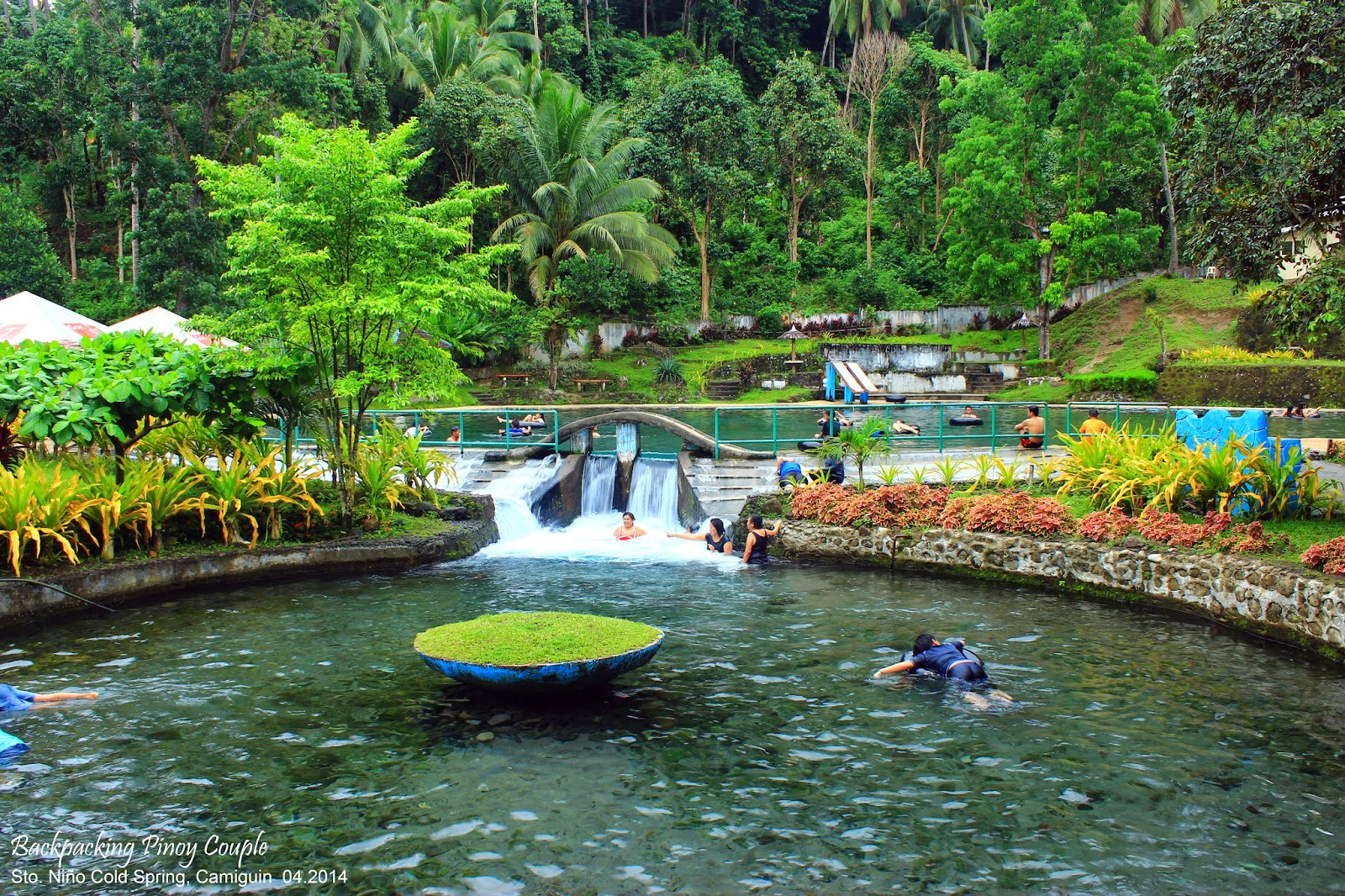 Backpacking Pinoy Couple, Backpacking Philippines, Northern Mindanao, Philippine travel, Camiguin, How to go to Camiguin, Sto. Niño Cold Springs, what to do in camiguin, where to go in camiguin