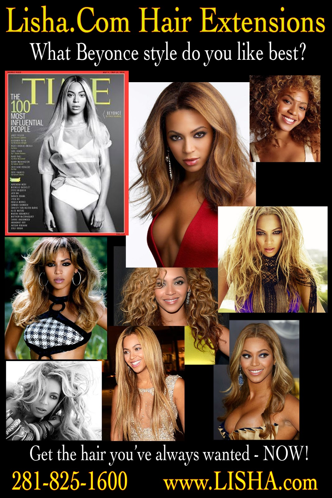 Beyonce Time Magazines 100 Most Influential People Hair