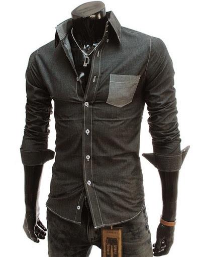 contoh model baju lengan panjang yang sedang populer saat ini