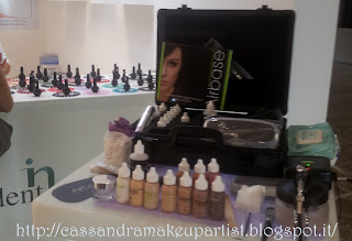 fiera salone estetica catania ciminiere_ airbrush make up
