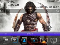 PrinceOfPersiaBlackberryTheme1 Prince of Persia 6.0 for Blackberry 9300 Curve 3G