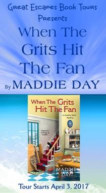 Maddie Day: here 4/3/17
