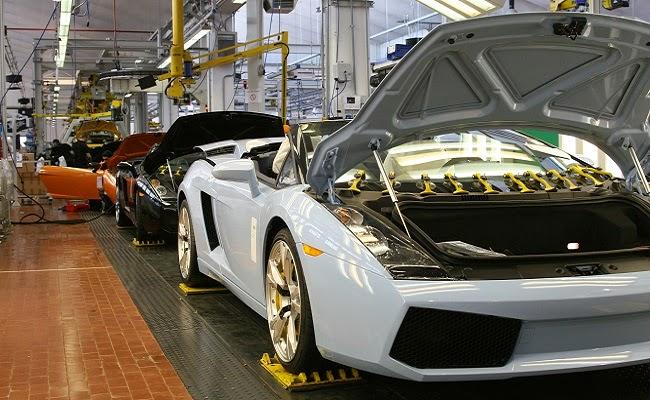 Nhà máy Lamborghini