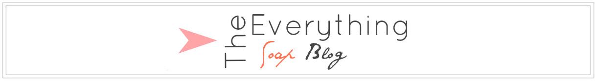 The Everything Soap Blog