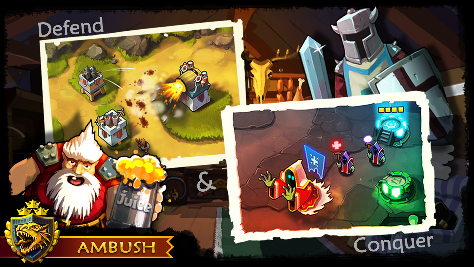 Ambush! - Tower Offense Gameplay