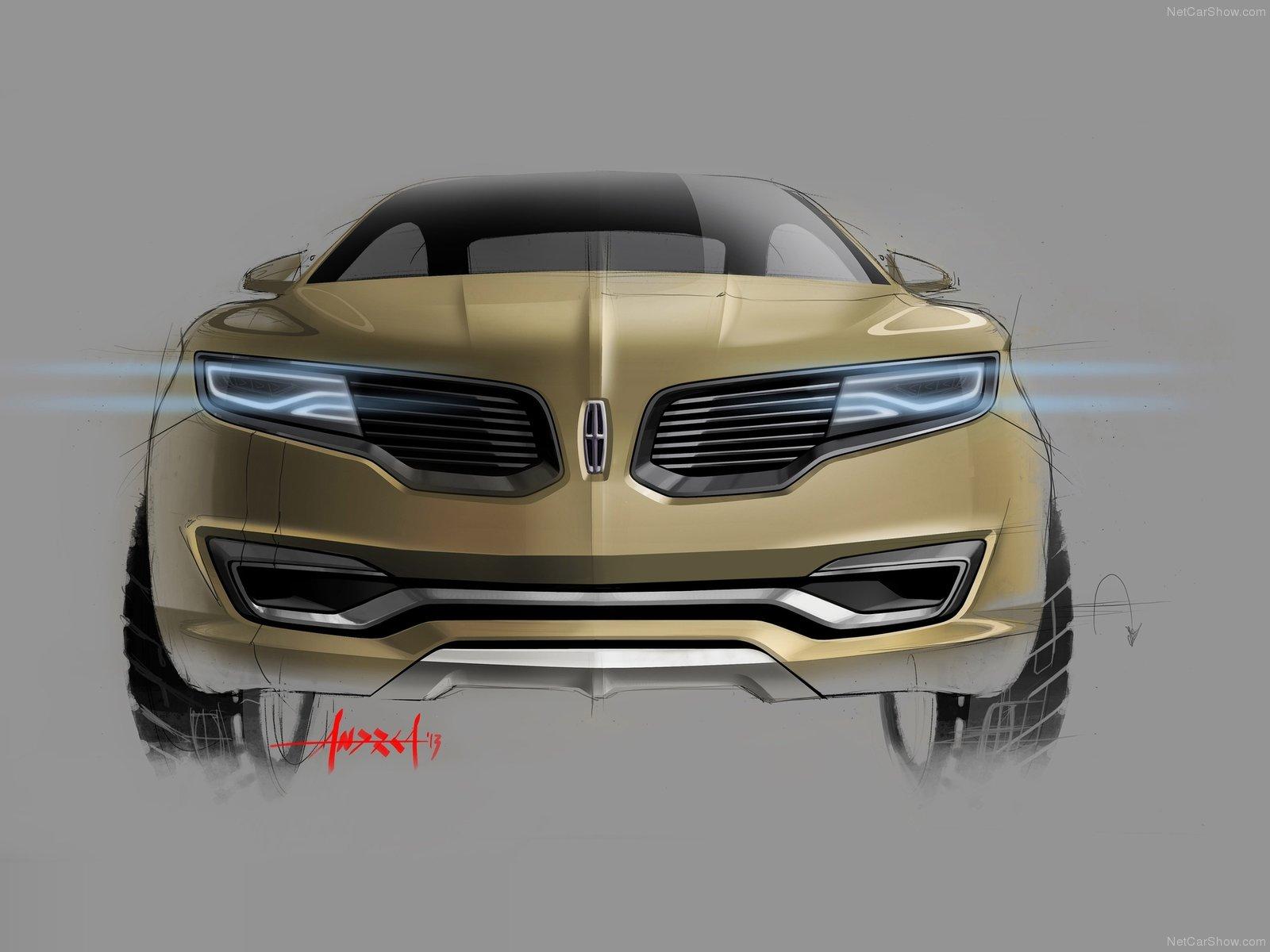 Hình ảnh xe ô tô Lincoln MKX Concept 2014 & nội ngoại thất