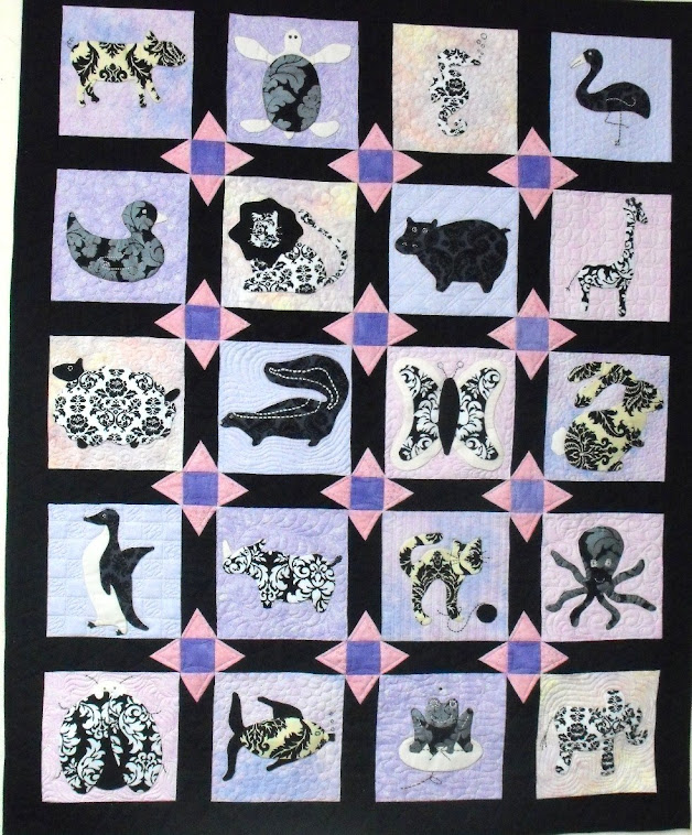 Applique Animal Quilt by Lisa