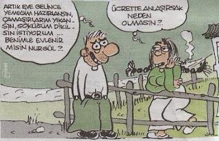 Evlilik Üzerine Karikatürler