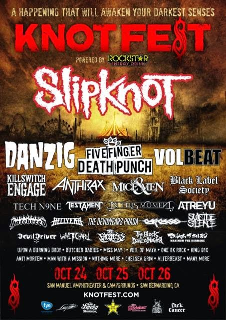 ONE OK ROCK IN KNOTFEST!!!!