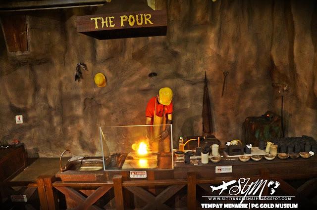 Proses Membuat Emas, PG Gold Museum, Siti Yang Menaip, Muzium Emas, Tempat Menarik Di Pulau Pinang, Tempat Menarik Di Penang, Jongkong Perak, Public Gold, Kedai Jual Beli Emas, Muzium Emas Pertama,