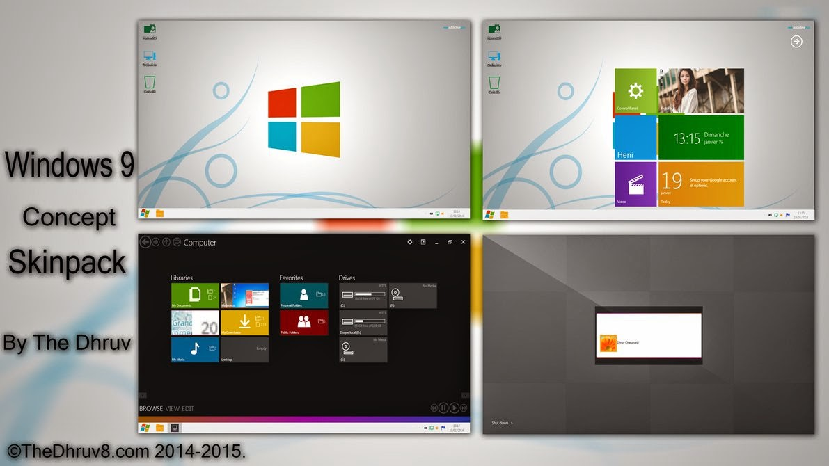 Windows 9 Skinpack