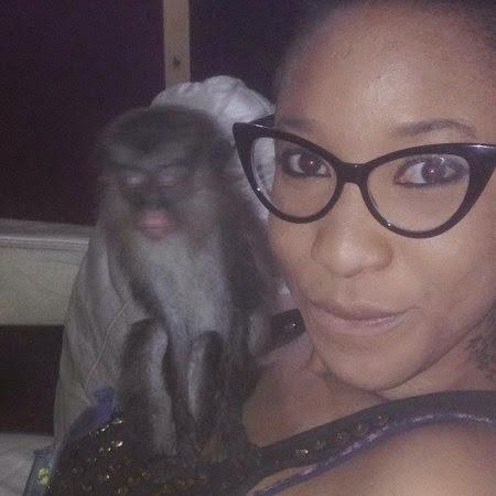tonto dikeh monkey