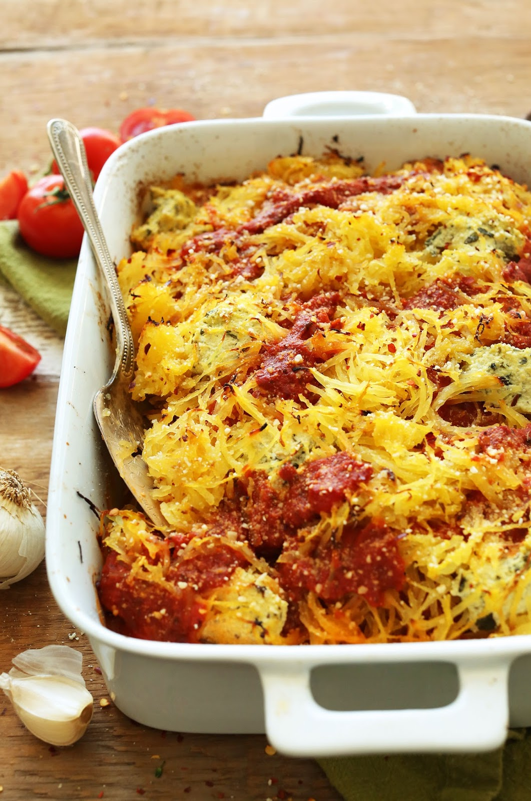 Flavorful, hearty 10-ingredient Spaghetti Squash Lasagna