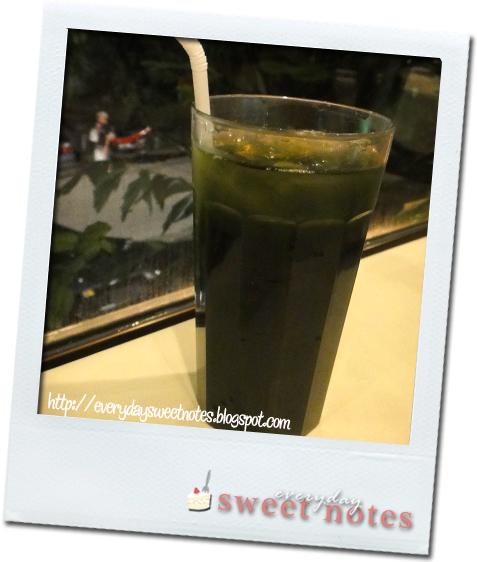 Pandan Aloe Juice