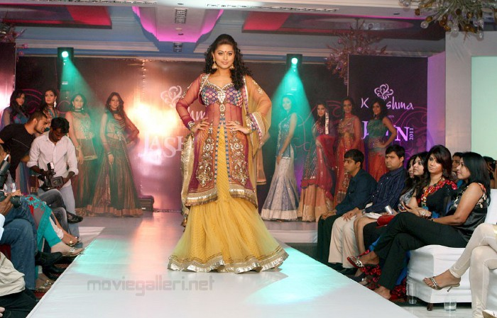 , Sneha In Beautiful Dress
