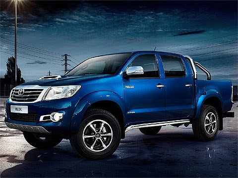 2014 Toyota Hilux Invincible Japanese car photos 480 x 360 pixels