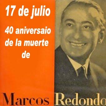 Recordando a Marcos Redondo