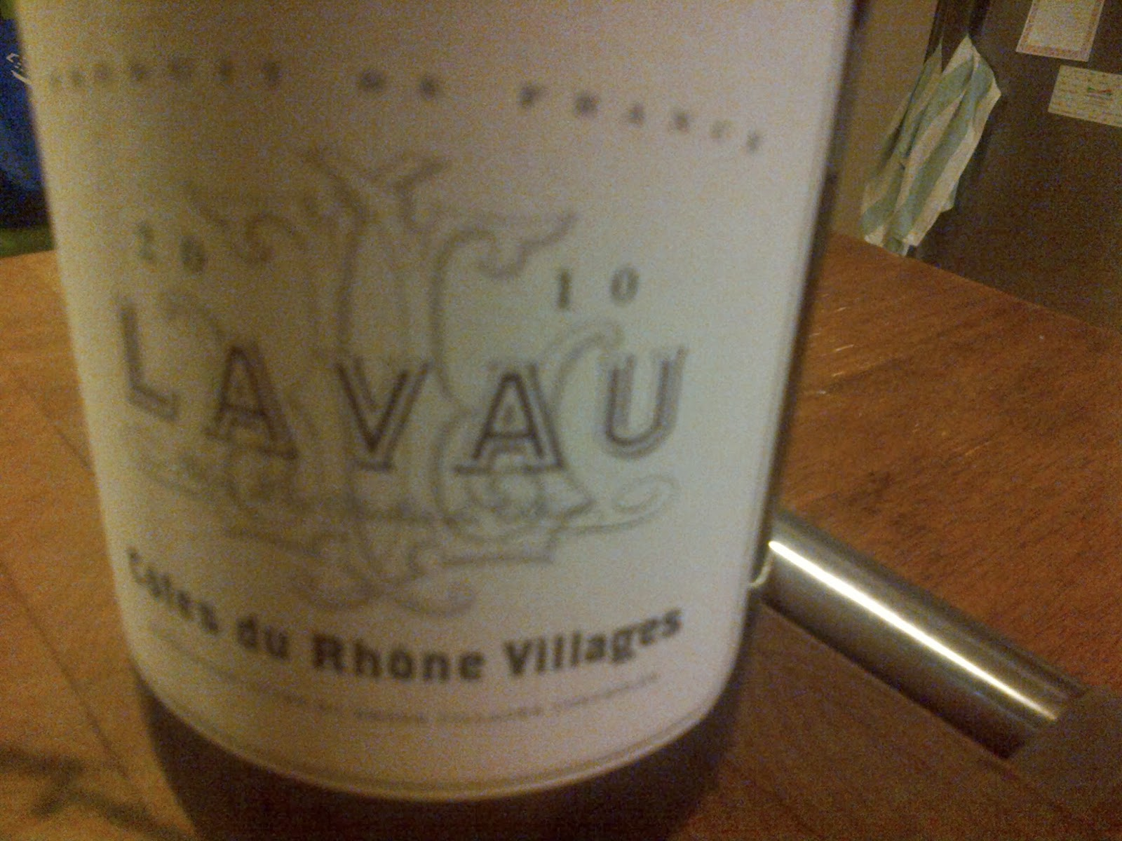 Lavau Cotes du Rhone Villages