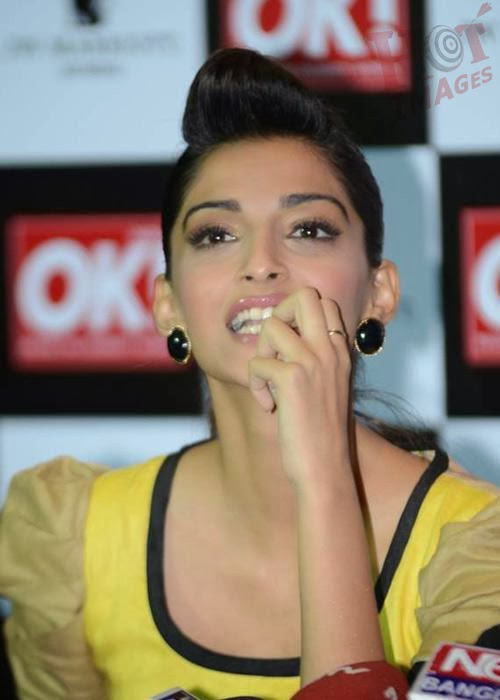 Sonam Kapoor in yellow dress
