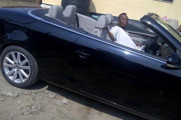 Davido Dad S Car