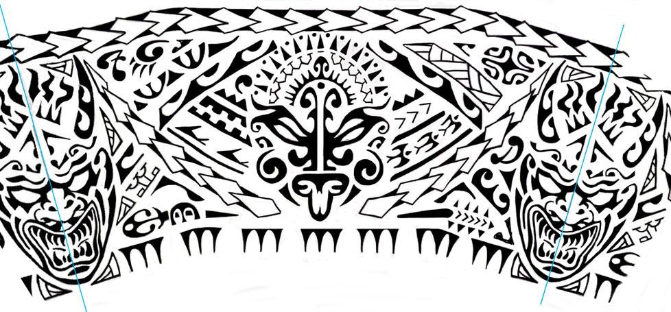Très PZ C: tatuaggi maori LJ42