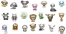 Cute Animals Emoticons