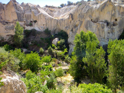 Goreme Rocky Terrain in Cappadocia