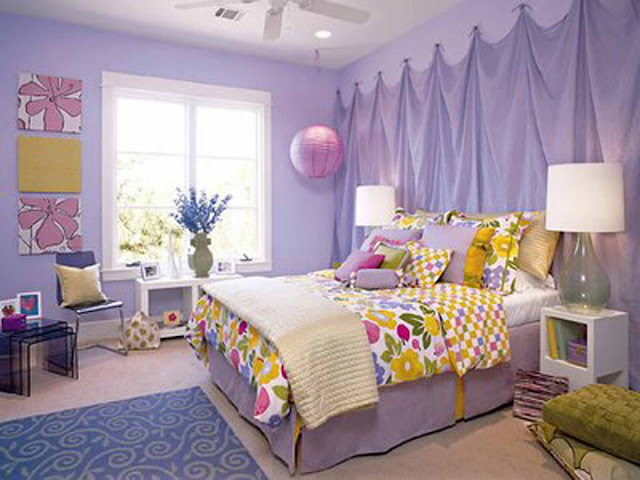 Girls Bedroom Wall Ideas