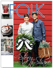 FOLK magazine's Christmas 2012 via Funky Junk Interiors