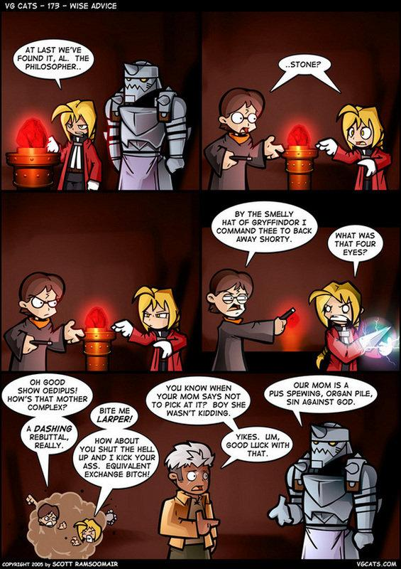 Philosopher's Stone Tragedy Fail funny humor pic