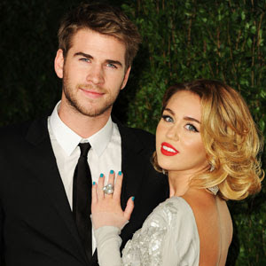 Miley Cyrus and Liam Hemsworth engagement