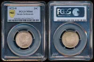 1872H 20 cents