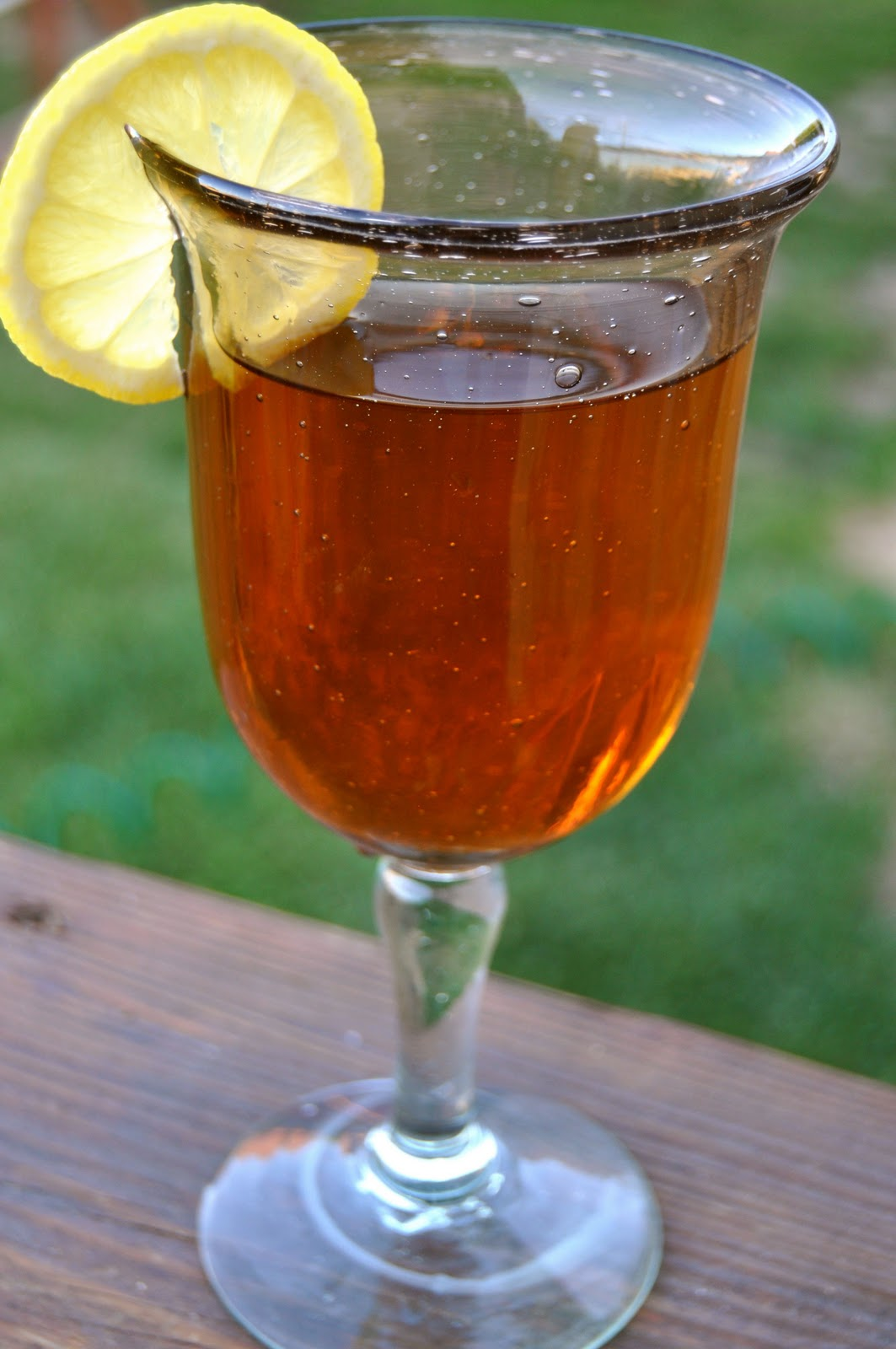 how to make sweet iced green tea