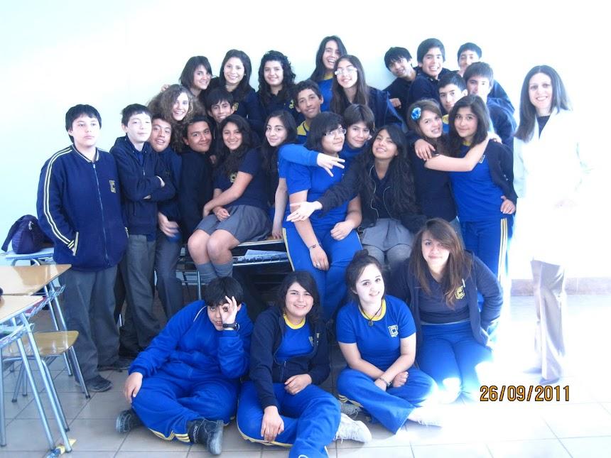 Octavo A Colegio Chuquicamata Libre De Humo.