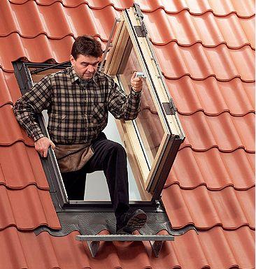 Arredo in finestra per mansarda for Velux in alluminio