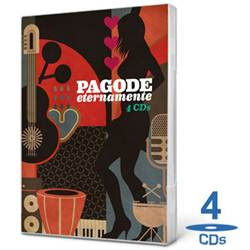 CD Box Pagode Eternamente (2012) – 4 Cds