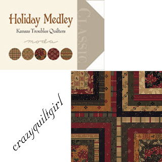 Moda HOLIDAY MEDLEY Christmas Quilt Fabric by Kansas Troubles Quilters