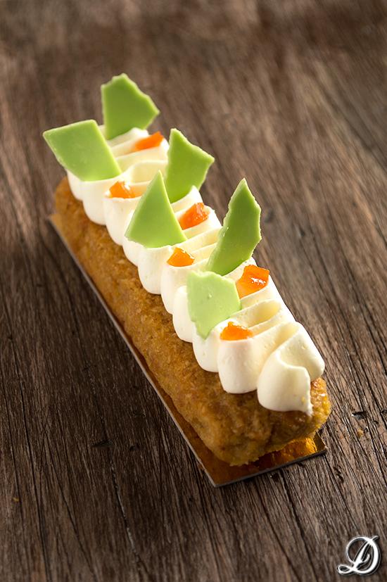 Cake de Zanahoria y Coco con Ganache de Cardamomo