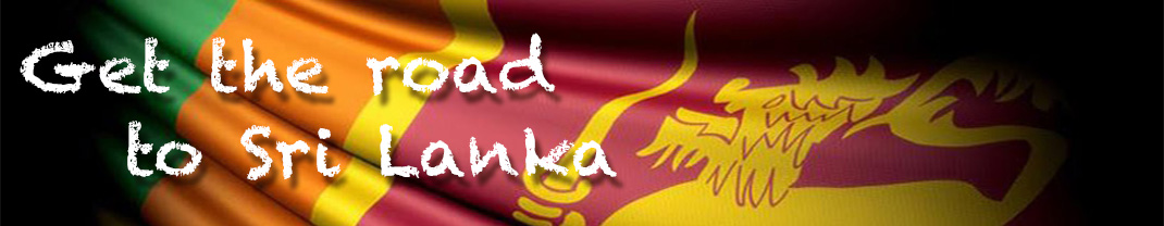 Get the road to Sri Lanka