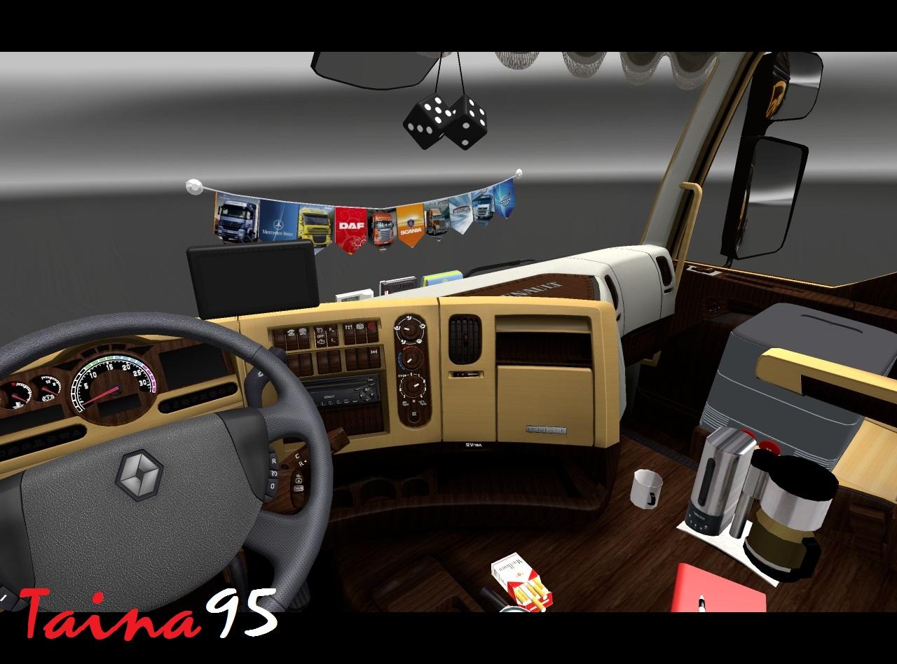 renault premium euro truck simulator 2. Black Bedroom Furniture Sets. Home Design Ideas