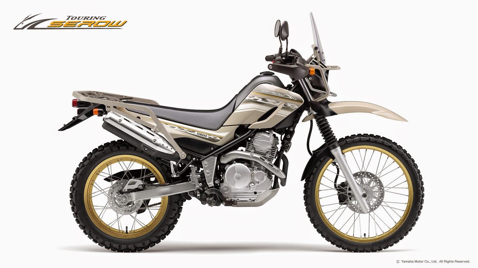 Planet Japan Blog: Yamaha Touring Serow 250 2015
