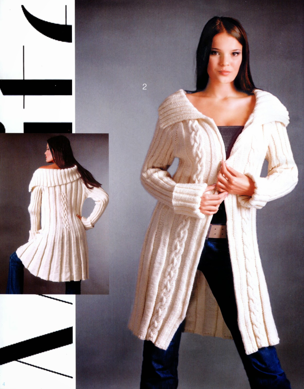 журнал мод вязание номер 56