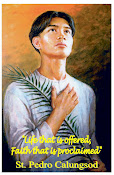 St Pedro Calungsod, 2nd Filipino Saint