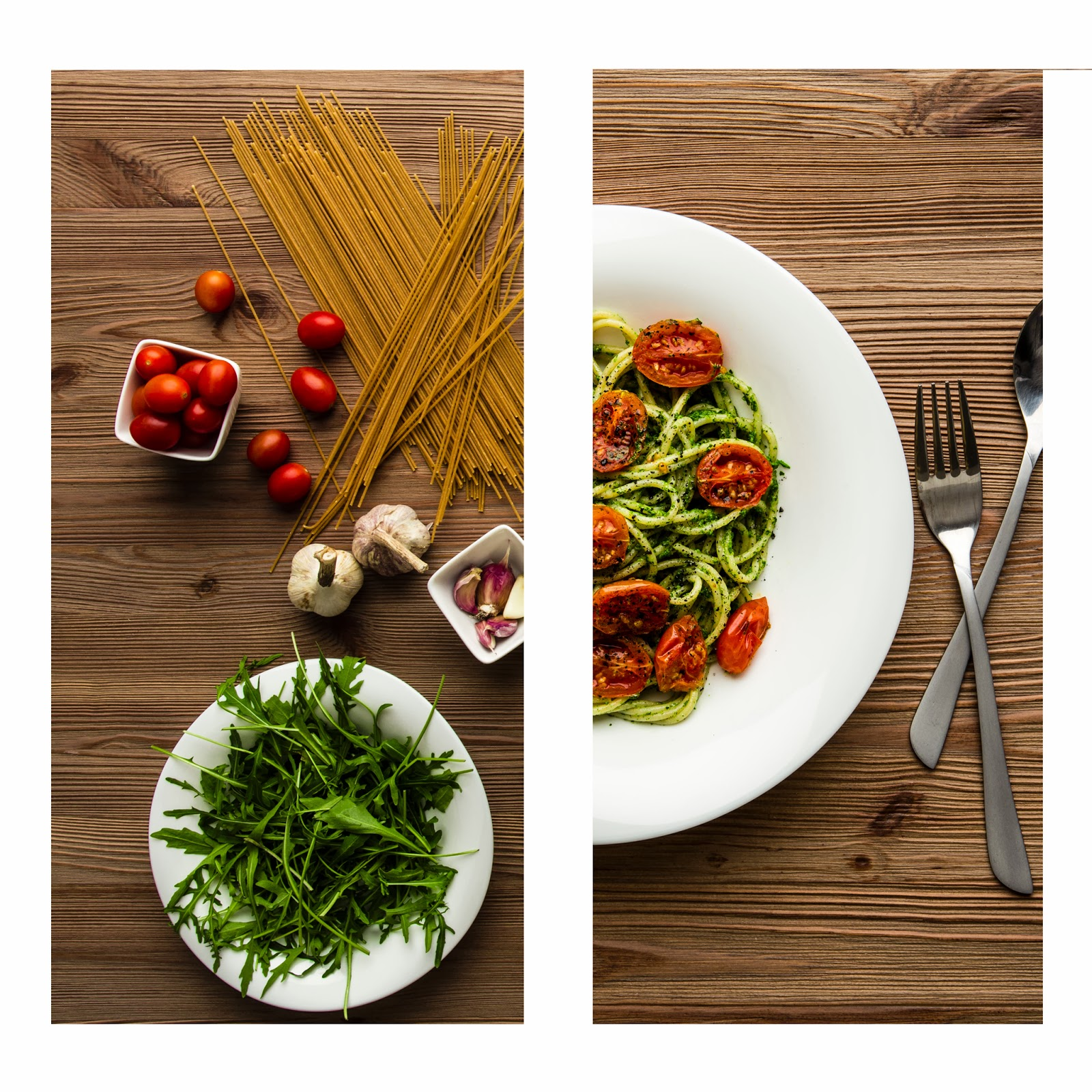 pesto z pomidorami