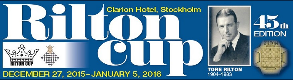 La Rilton Cup, le tournoi d'échecs le plus prestigieux de Suède