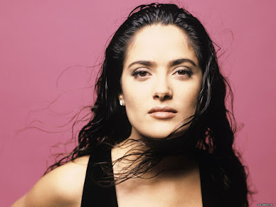 Most Sexiest Beauty Salma Hayek Wallpaper
