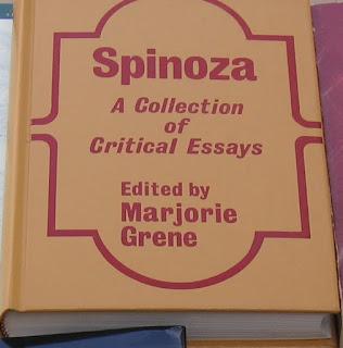 Spinoza critical essays