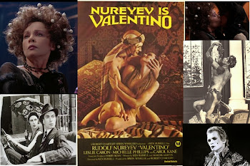 "Rudolf Nureyev as ""Valentino"" (1977) Leslie Caron as Alla Nazimova FREE ship USA"