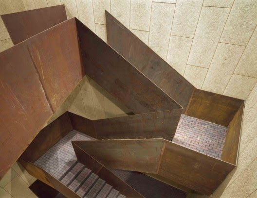 creative stairs design by Cerrejón Architects