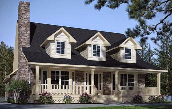 Planos de casas plano de casas modelos for Casa modelo americano